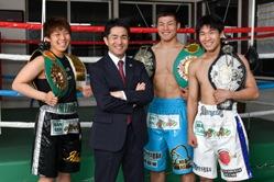 川崎新田ジムのチャンピオン達